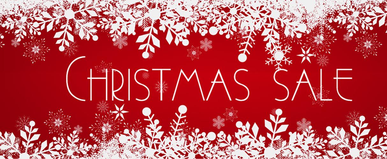 CHRISTMAS SALE ON NOW