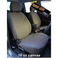 MSA TRADIE SEAT COVER - COMPLETE FR & 2ND ROW SET - AIRBAG