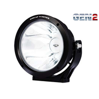 GREAT WHITES GEN2 220 LONG DISTANCE ROUND DRIVING LIGHT