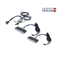 GREAT WHITES 12-24V GEN2 DAYTIME RUNNING LIGHT KIT