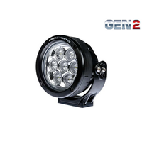 GREAT WHITES 120 7 LED GEN2 ROUND DRIVING LIGHT