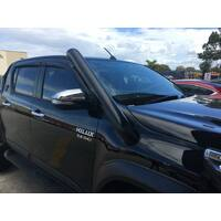 ORC STAINLESS SNORKEL - N80 HILUX 2015 ON ( SHORT ENTRY)