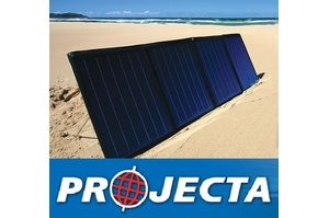 PROJECTA FOLDING SOLAR PANEL KIT 12V & 120W ,FRAME-LESS TRAVEL FRIENDLY KITS
