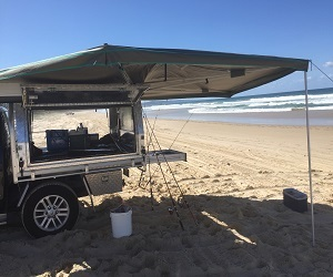 30 SECOND WING AWNING & Quality 4x4 Awnings | Roof Top Tents | Roof Racks Brisbane