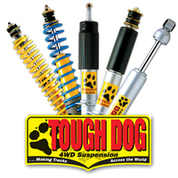 TOUGH DOG ADJ STEERING DAMPER Landrover/Series 2