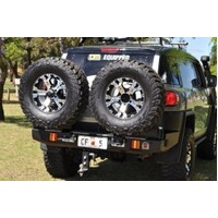 OUTBACK ACCESSORIES' DUAL WHEEL CARRIER TOYOTA FJ CRUISER