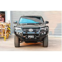 PIAK ELITE POST BAR - TOYOTA FORTUNER 2015 ON W/BLACK TOW POINTS & ORANGE UBP