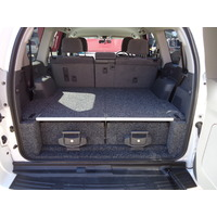 4WD INTERIORS 850 SERIES ROLLER DRAWERS - TOYOTA LANDCRUISER 76 SERIES WAGON