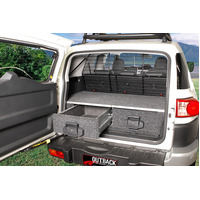 4WD INTERIORS 950 SERIES ROLLER DRAWERS - TOYOTA FJ CRUISER WAGON