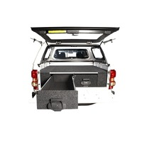4WD INTERIORS 1250 SERIES ROLLER DRAWERS - HOLDEN RODEO/ COLORADO/ ISUZU D-MAX/ GREAT WALL 2002-2012