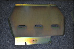 BASH PLATE 3MM - FRONT GUARD #SGPX1