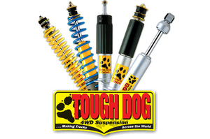 TOUGH DOG ADJ STEERING DAMPER FORD F250 2003-ON