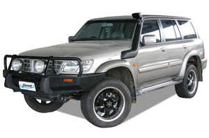 SAFARI SNORKEL TO SUIT NISSAN PATROL GU SERIES 2 & 3 4/2000 TO 08/2004