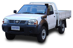 SAFARI SNORKEL TO SUIT NISSAN NAVARA D22 10/01 ONWARDS ALL SINGLE BATTERY
