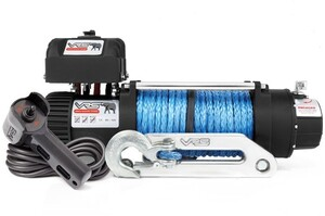 V12500S VRS WINCH WITH SYNTHETIC ROPE - AUSTRALIAN DESIGN - 12500 LB (5670KGS) SINGLE LINE