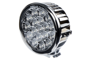 GREAT WHITES 18 LED CHROME ROUND DRIVING LIGHT
