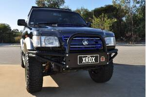 XROX BULLBAR HOLDEN JACKAROO 10/1999ON