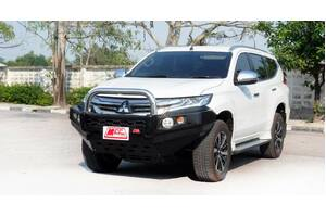 MCC FALCON STAINLESS SINGLE LOOP BULLBAR WITH FOGS & PLATES - MITSUBISHI PAJERO SPORT