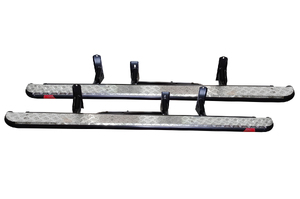 MCC HEAVY DUTY STEEL SIDE STEPS &/OR RAILS HOLDEN COLORADO 7 & ISUZU MU-X (2013 TO PRESENT)