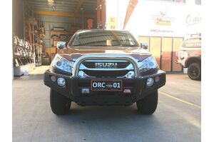 MCC 'FALCON STAINLESS SINGLE LOOP' BULL BAR ISUZU D-MAX 2008-2011