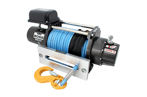 Boss 9500LB Winch - Synthetic Rope