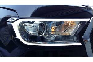 Head Lamp Cover with LED Front Position