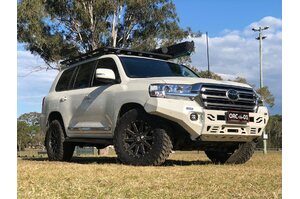 RIVAL ALLOY FRONT BUMPER TO SUIT LANDCRUISER 200 SERIES