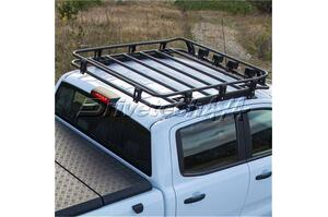 Drivetech 4x4 by Rival Alloy Roof Basket Ford PX/PX2/PX3 Ranger & Mazda BT50 2011 On