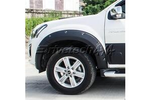 "6"" Off Road Design Flare Kits to suit Isuzu Dmax TF 06/12 - 10/16"