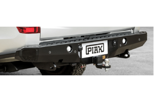 PIAK PREMIUM REAR STEP TOW BAR WITH SIDE PROTECTION - MITSUBISHI TRITON MQ 2015+