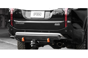 PIAK COMPACT REAR TOWBAR W/SIDE RAILS - ORANGE RECOVERY POINTS MITSUBISHI PAJERO SPORT QE 2016+