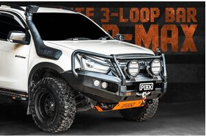PIAK ELITE POST BAR W/ ORANGE TOW POINTS - ISUZU DMAX 2017-2019