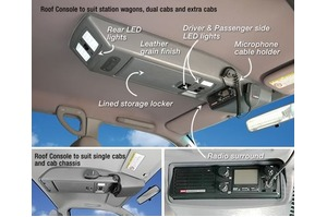 ROOF CONSOLE - HOLDEN RODEO / COLORADO/ ISUZU D-MAX/ GREAT WALL V240 DUAL CAB'S 2003-2012